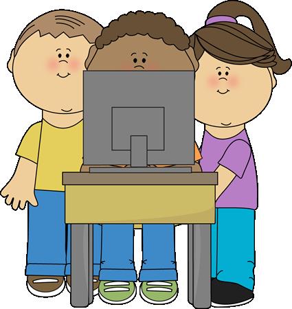 svg Kids using school clip. Computer clipart artist