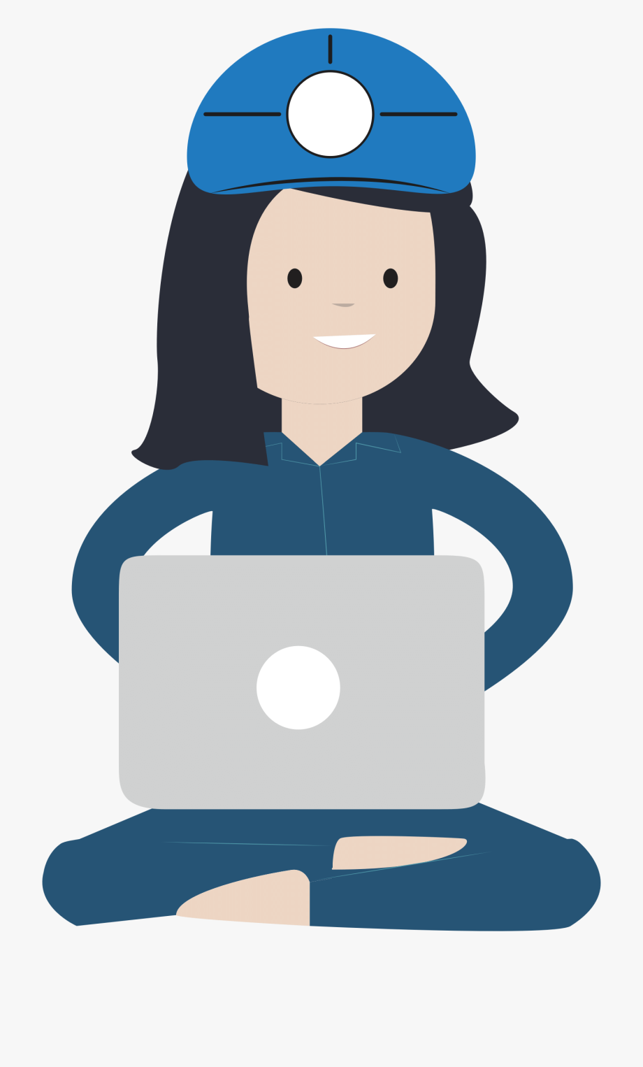 clipart freeuse library Female . Computer engineer clipart