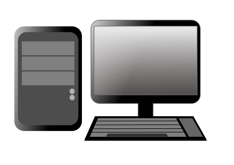 clipart royalty free download Image of Desktop Computer Clipart