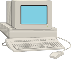 picture free download Large Antique Computer Clip Art at Clker
