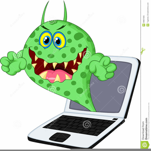 svg library download Computer virus clipart. Free images at clker.