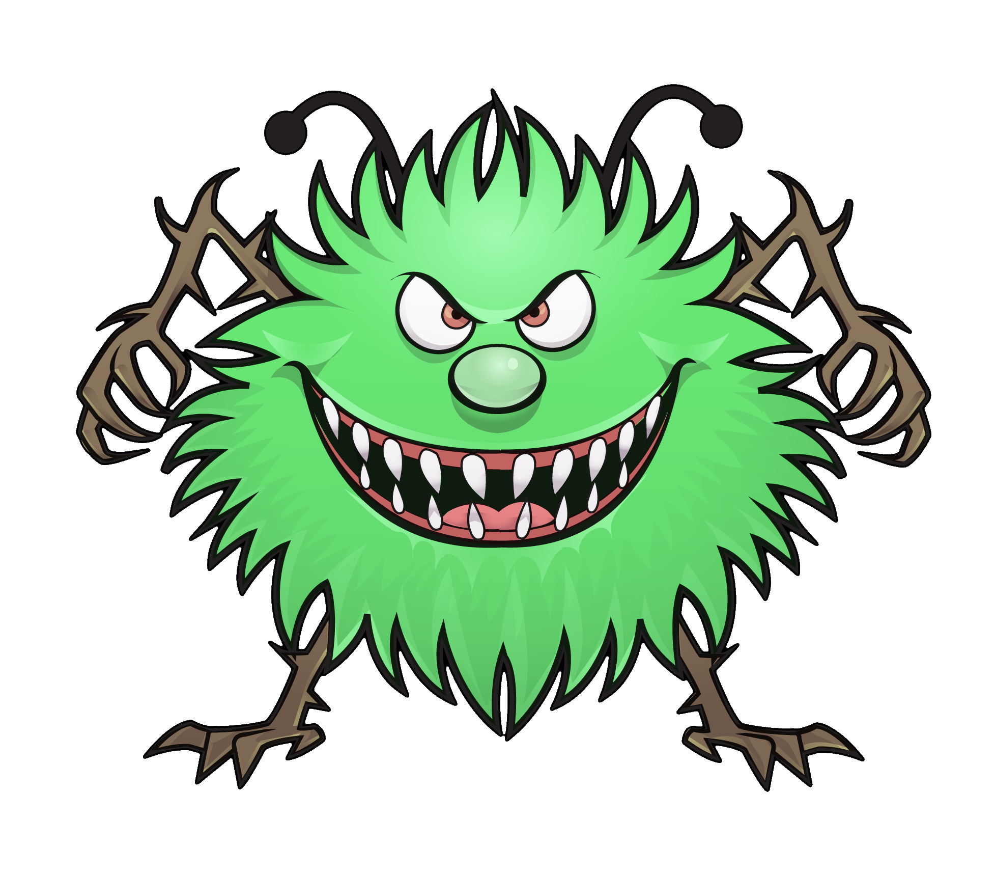 graphic freeuse library Computer virus clipart.  collection of transparent.