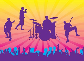 vector royalty free library Free cliparts download clip. Concert clipart