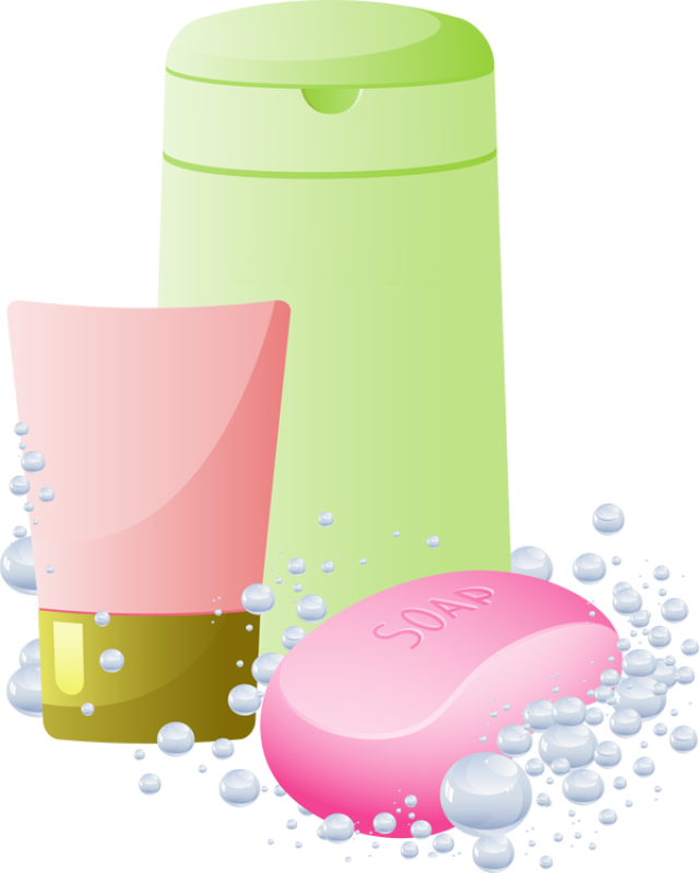 clip royalty free Shampoo And Soap Clipart