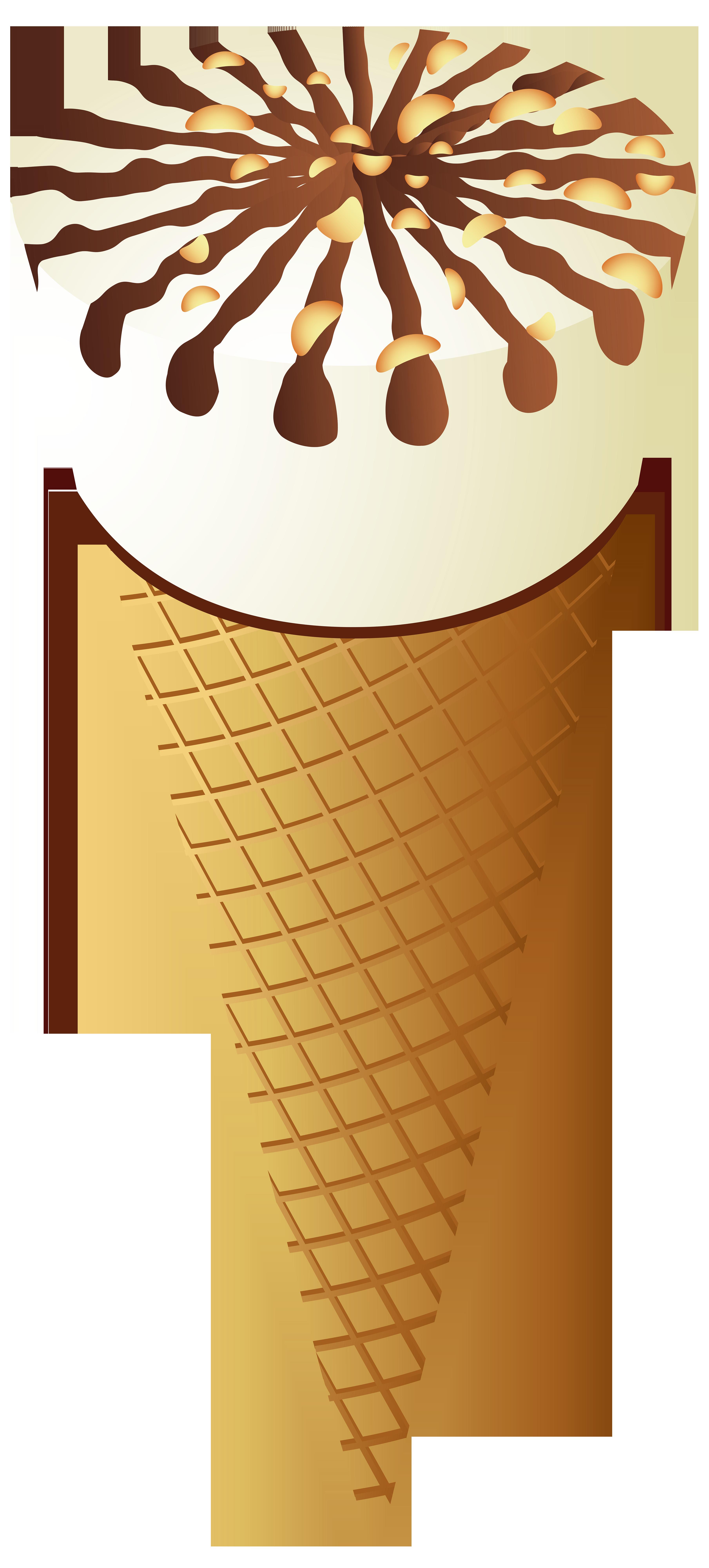 library Ice cream png clip. Cone clipart.