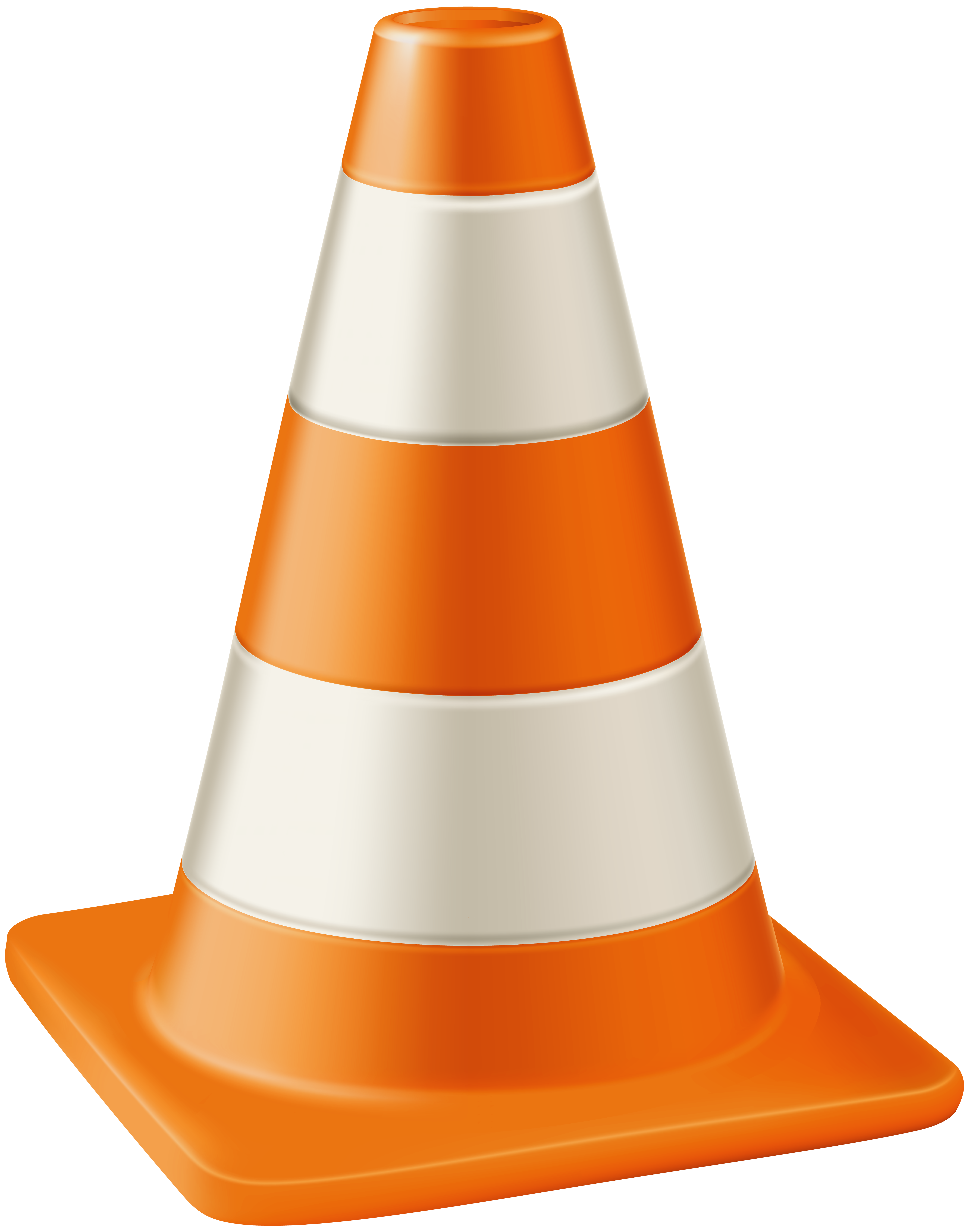 vector black and white download Cone clipart. Traffic transparent png clip.