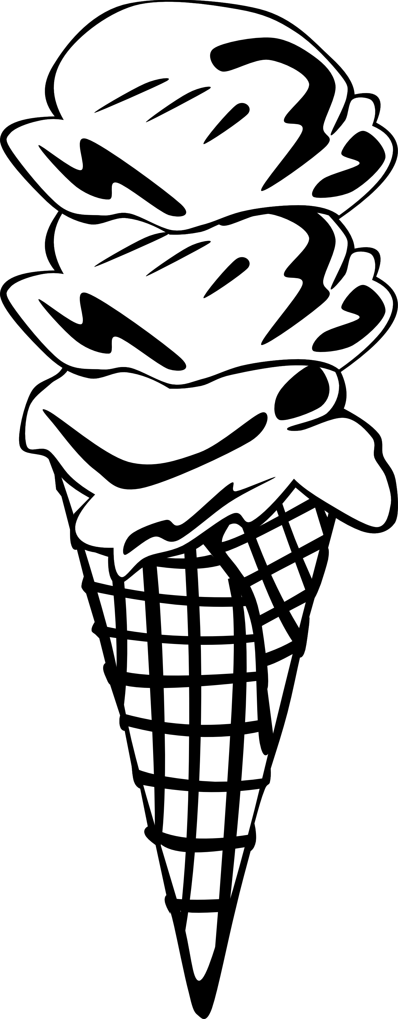 graphic library stock Ice Cream Line Drawing at GetDrawings