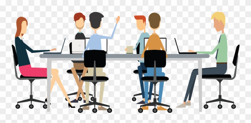 png free download Office meeting planning png. Conference clipart