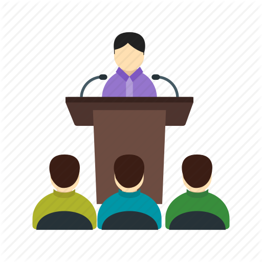 jpg transparent download Elections flat colorful by. Conference clipart conference hall