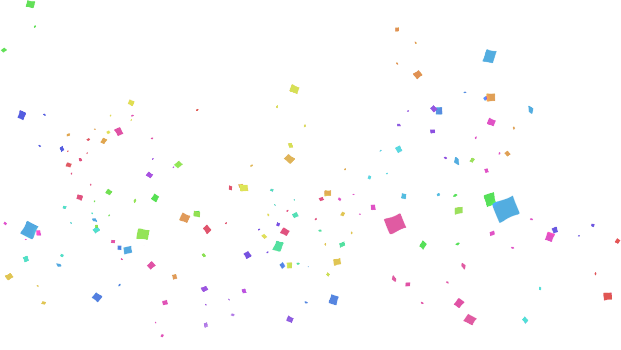 freeuse Confetti Transparent PNG Pictures