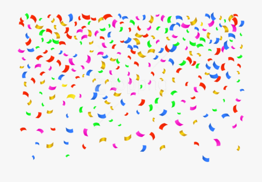png royalty free stock Transparent background png . Confetti clipart.