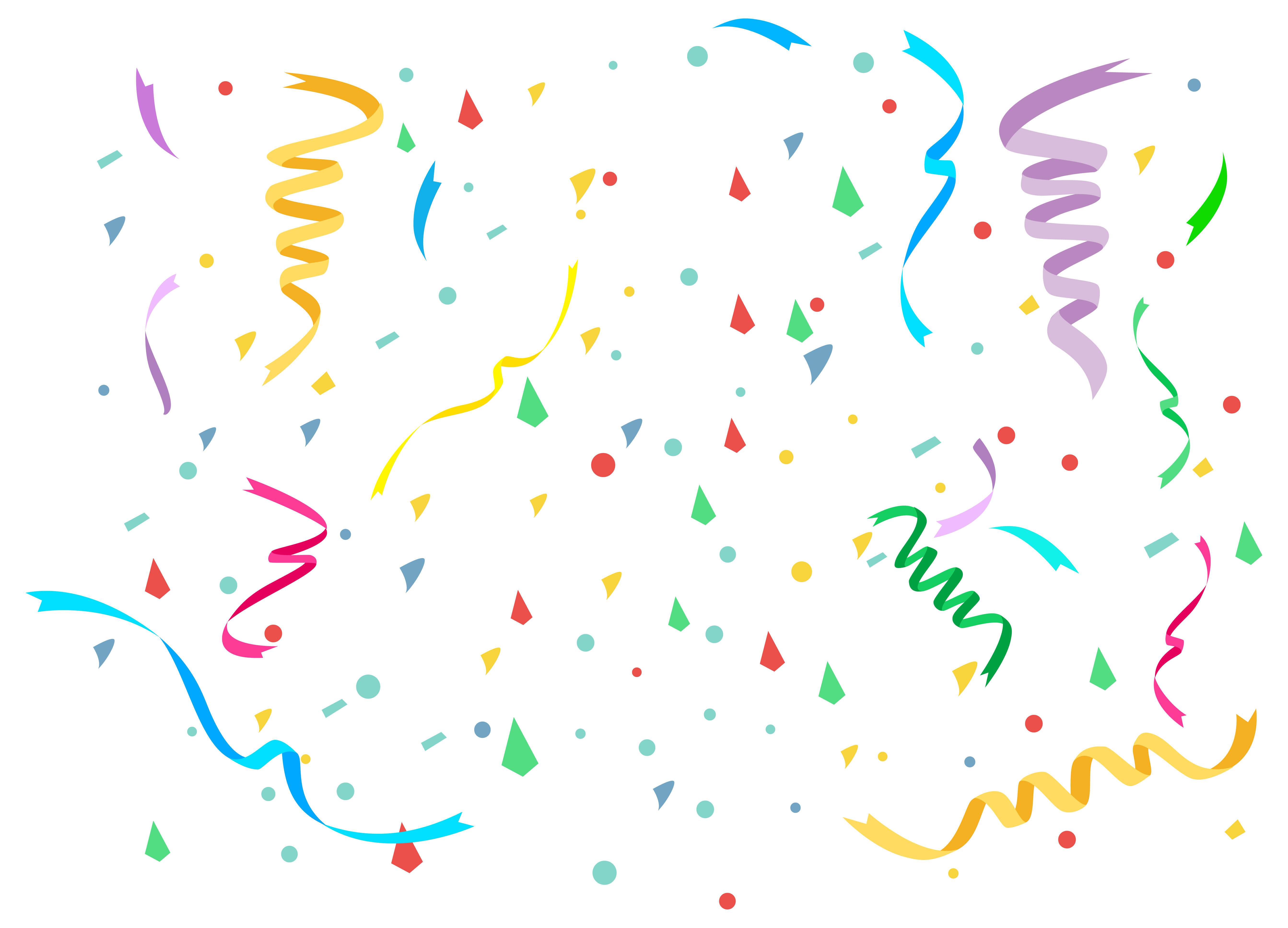 transparent library Png image gallery yopriceville. Confetti clipart.