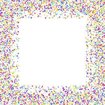 clipart free library Png vector psd and. Confetti clipart border