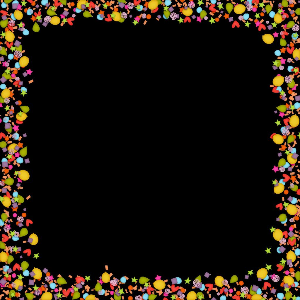 clip freeuse download Confetti clipart border. Free on dumielauxepices net