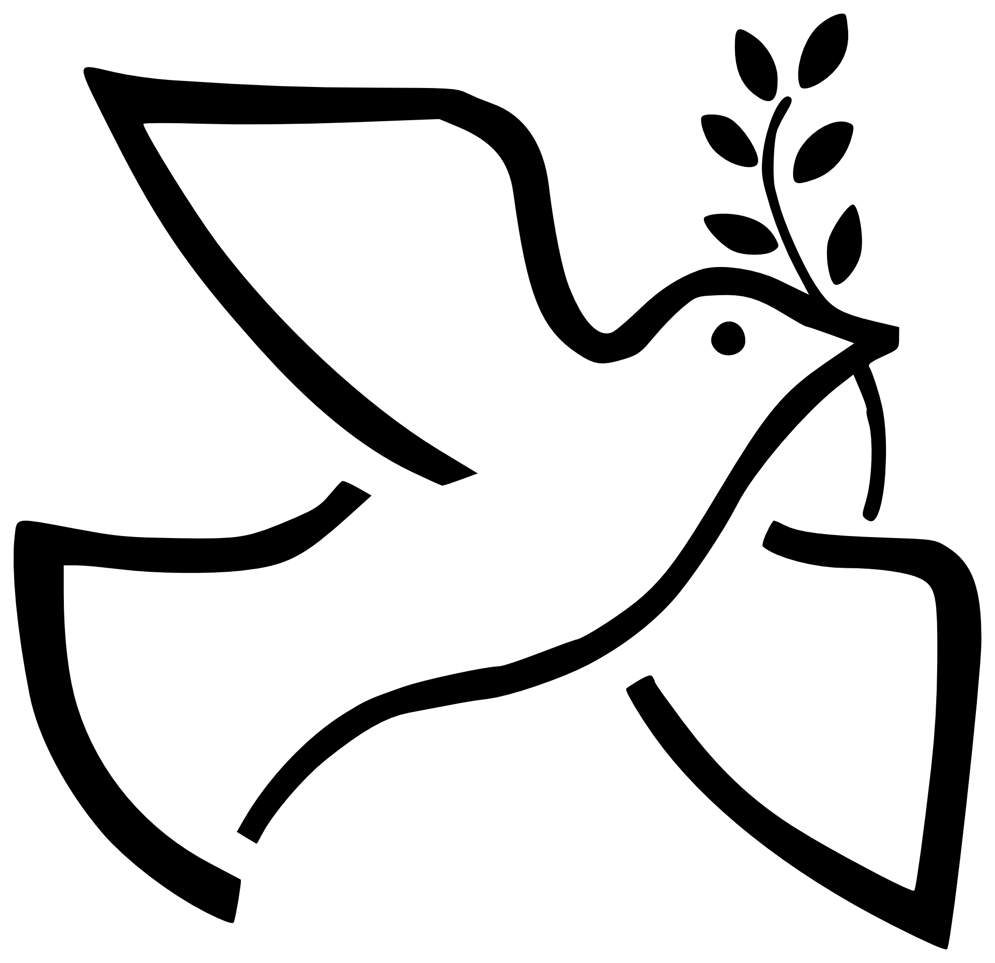png royalty free Dove black and white. Thought clipart intention