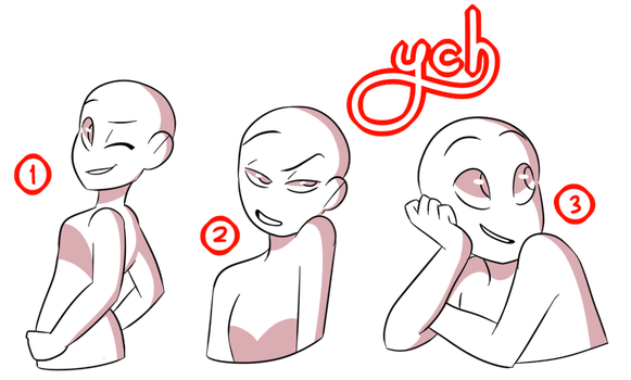 clip art free stock Drawing random basic. Ych auction poses by