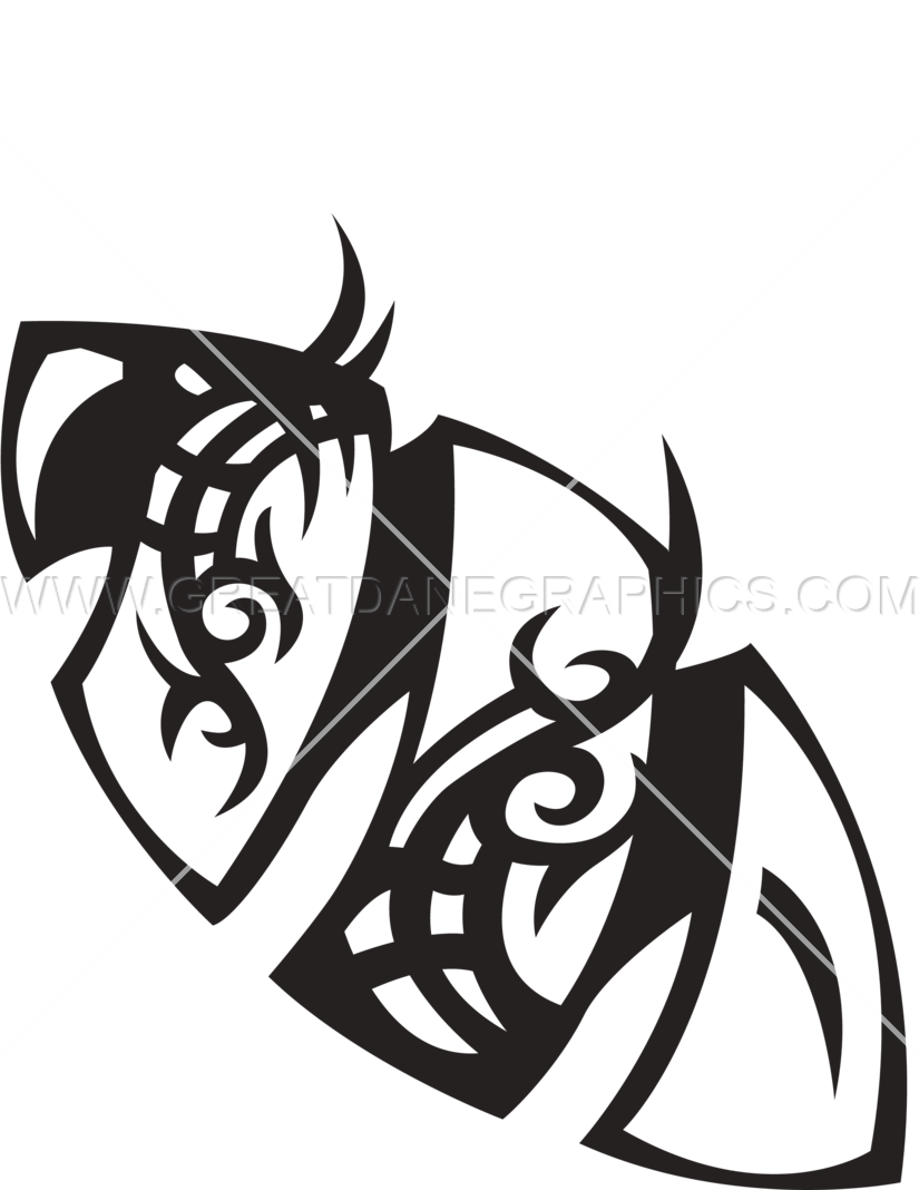 picture free stock Twisted Tribal Football
