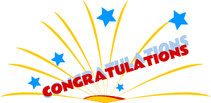 png free library Congratulations clipart. Free
