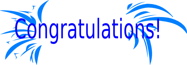 clip freeuse download Congratulations clipart. Lcko qbca danvers high.