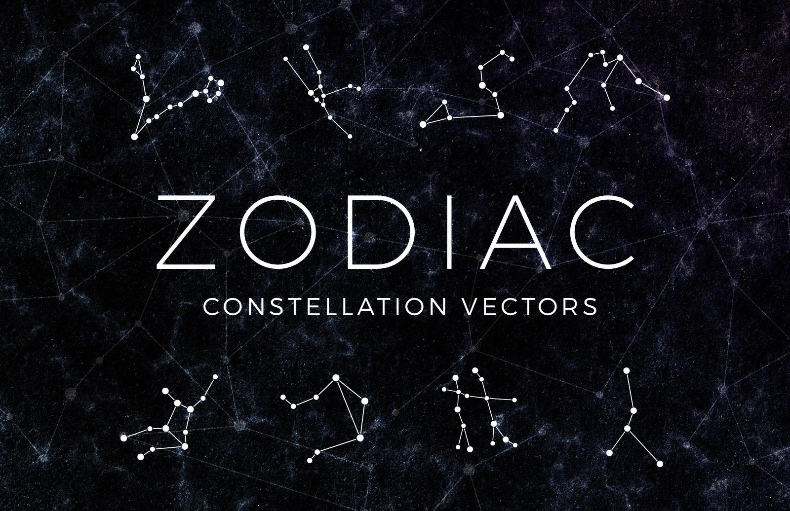 banner download Constellation vector. Free zodiac vectors .