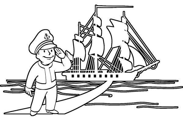 clipart library download Constitution clipart black and white. Uss drawing at getdrawings