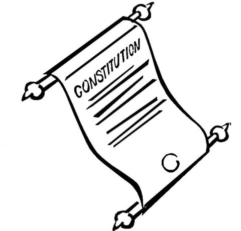 picture transparent download Constitution drawing. Coloring page free printable.