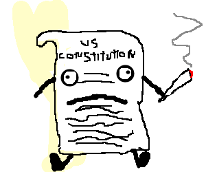jpg royalty free library Constitution drawing. The is a living.