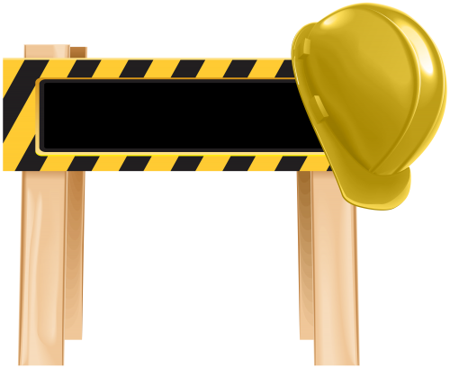 clip art free download Under barrier png clip. Construction clipart.