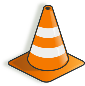 jpg freeuse library Construction clipart. Cone clip art at