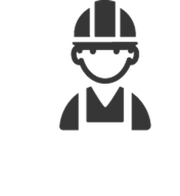 jpg library stock Construction clipart black and white. Professions worker the.