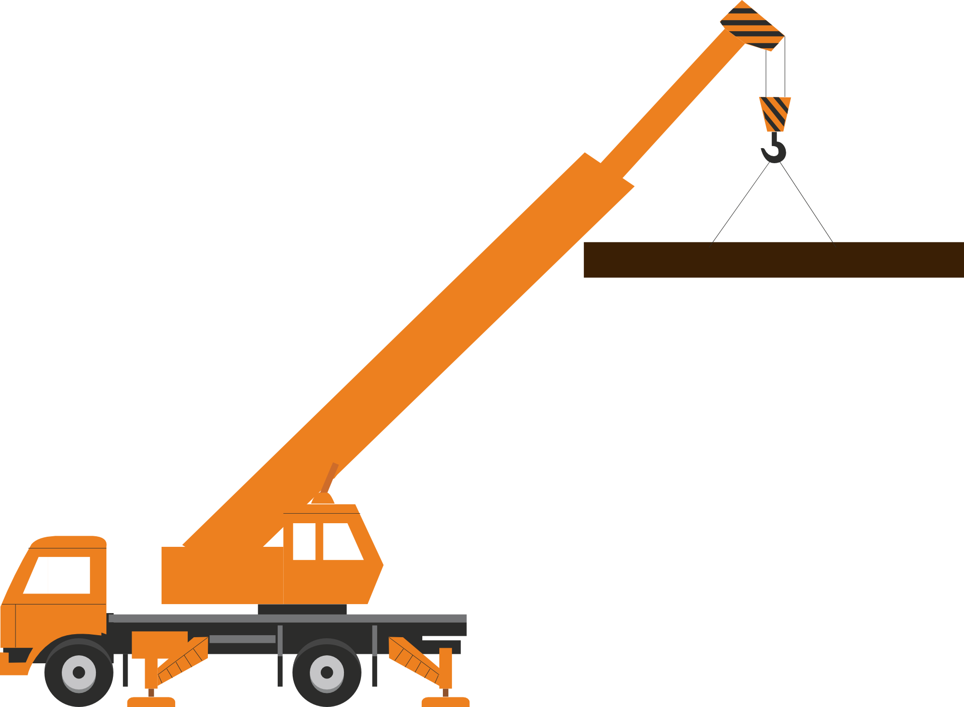 clip royalty free download Construction Crane Clipart at GetDrawings