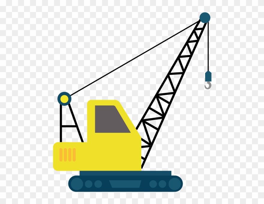 clipart freeuse stock Heavy lifting clip art. Construction crane clipart.