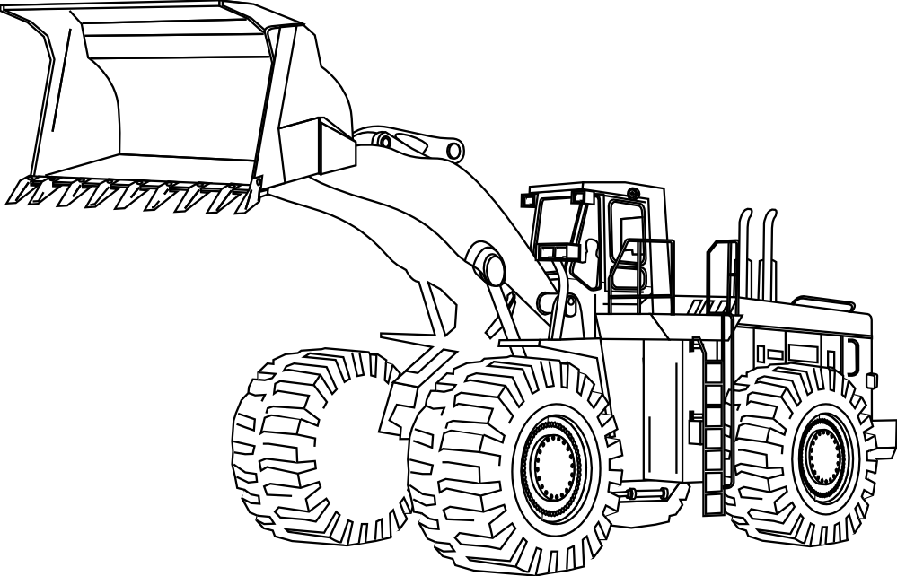 picture freeuse download Construction Equipment Drawing at GetDrawings