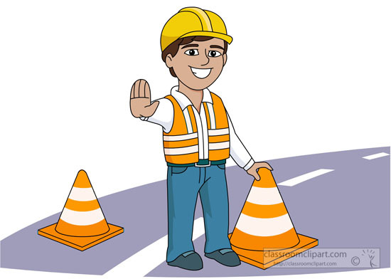 picture freeuse Road villages of almaguin. Construction safety clipart.