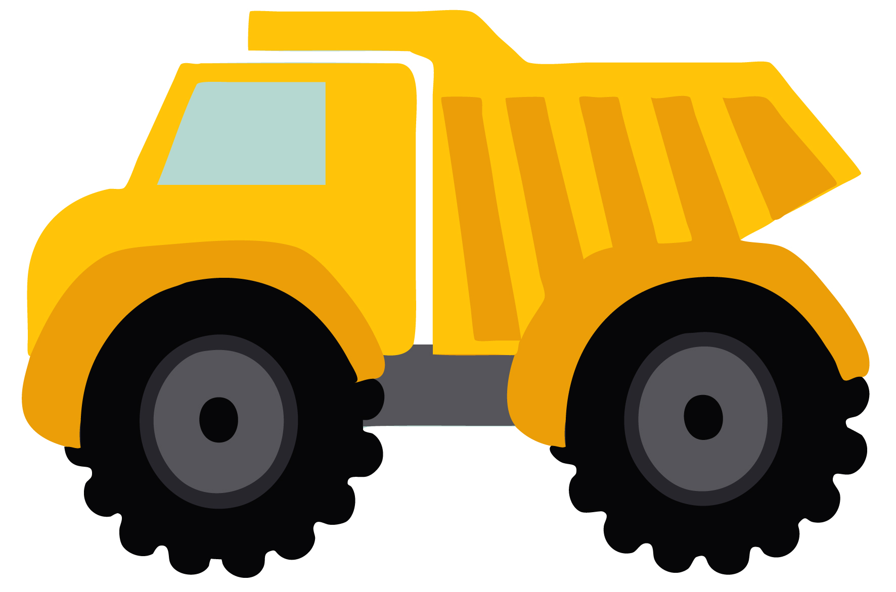 picture transparent library Free pictures download clip. Construction truck clipart.