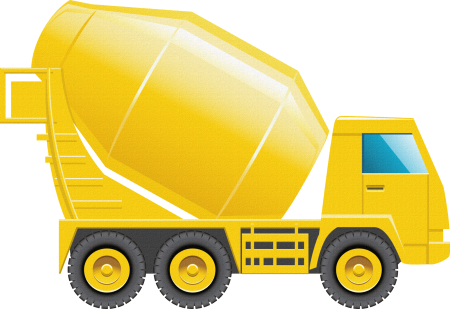 graphic royalty free library Construction truck clipart. Constru o minus roads.