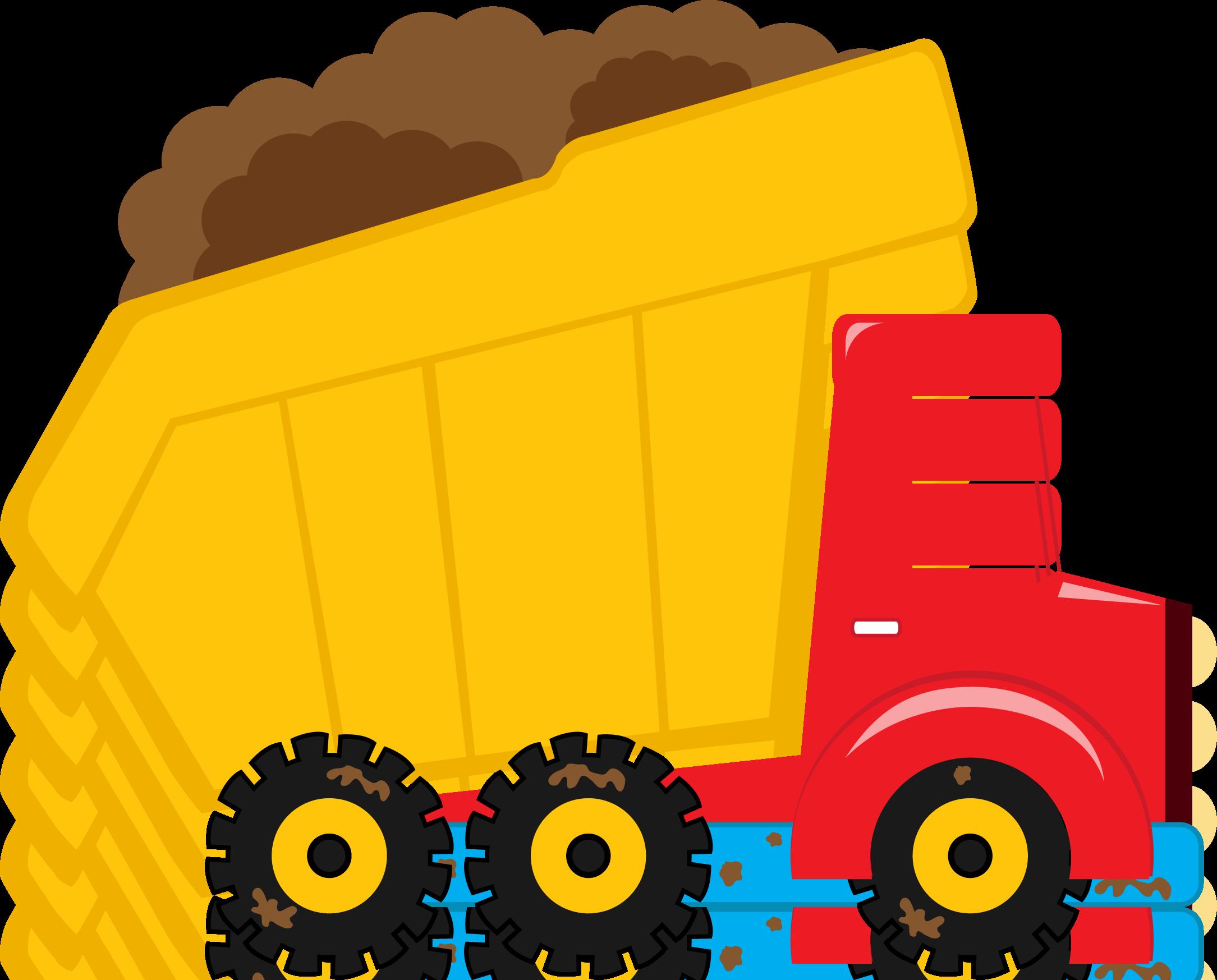 clipart royalty free Meios de transporte bddumptruck. Construction vehicles clipart.