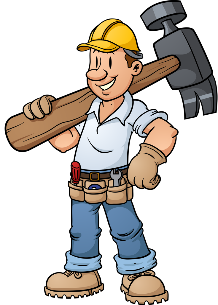 graphic Shutterstock png clip art. Construction workers clipart.