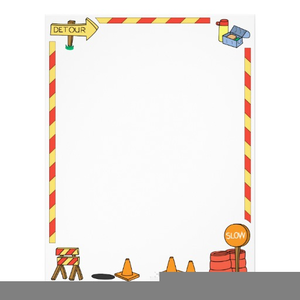 stock Free images at clker. Construction zone clipart.