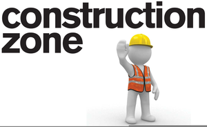 svg royalty free stock Construction zone clipart. Free images at clker.