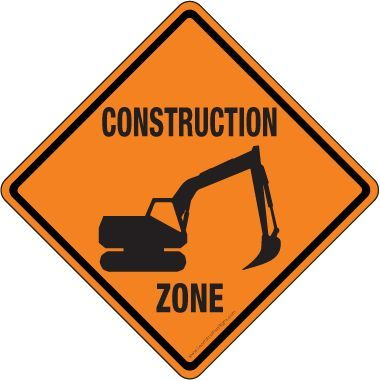 png royalty free download Construction zone clipart. Printable signs pictures best.