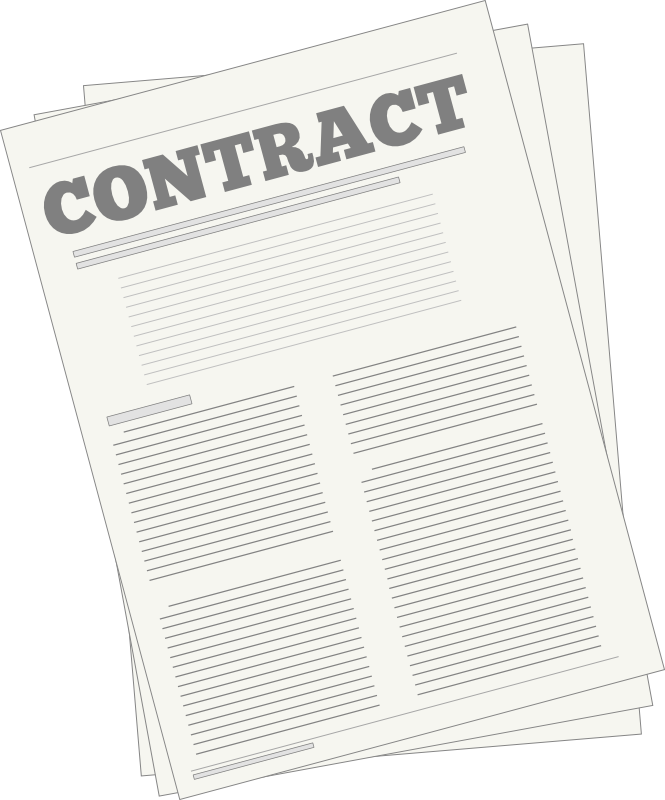 png freeuse library Contracts institute for academic. Contract clipart