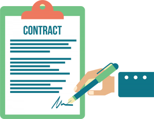 svg transparent stock Website support contracts what. Contract clipart