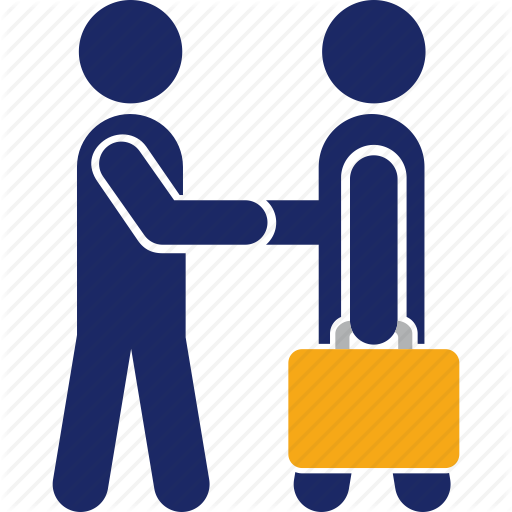 clip black and white Shaking clipart executive agreement