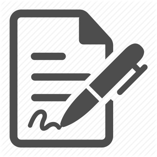 graphic royalty free library contract icon