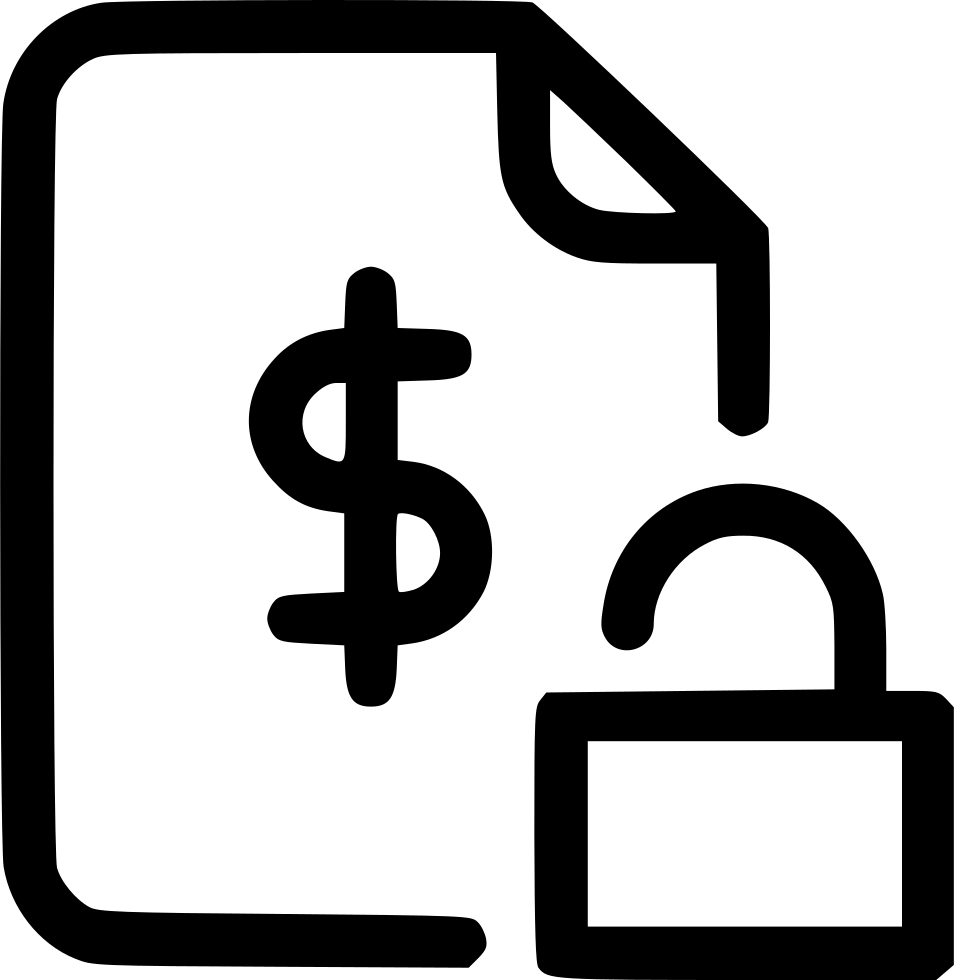 picture Agreement Document Contract Finance Safe Protected Locked Svg Png