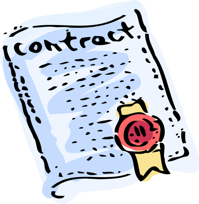 clipart Contract clipart mutual agreement