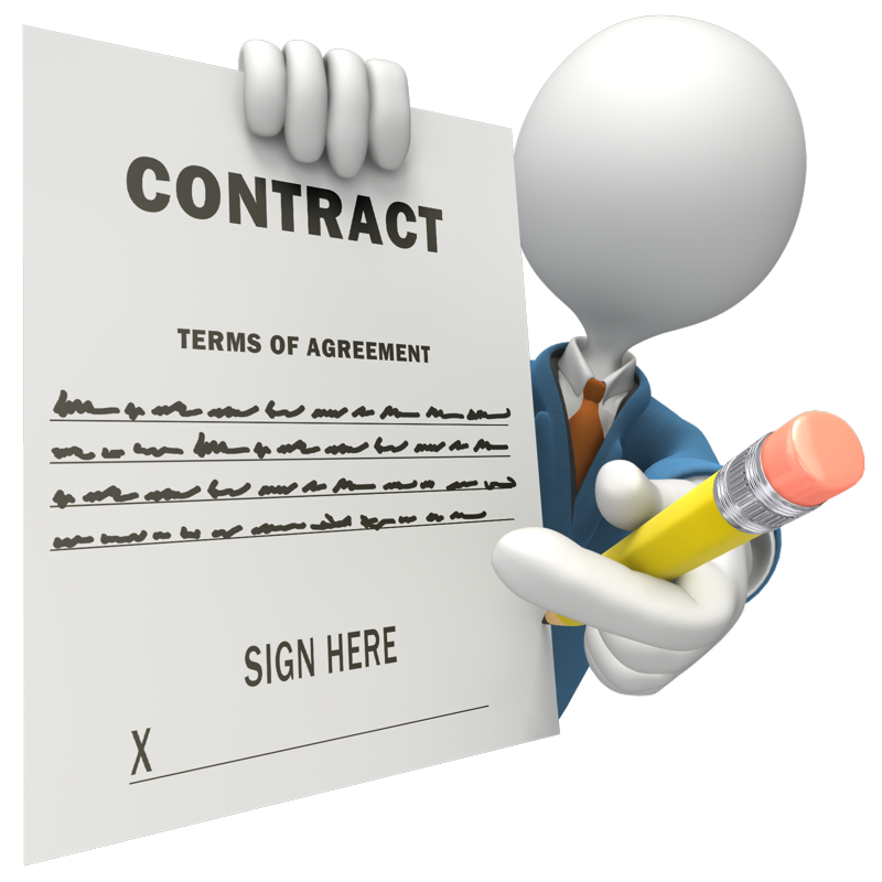 clip art library download Quotes about Contract signing