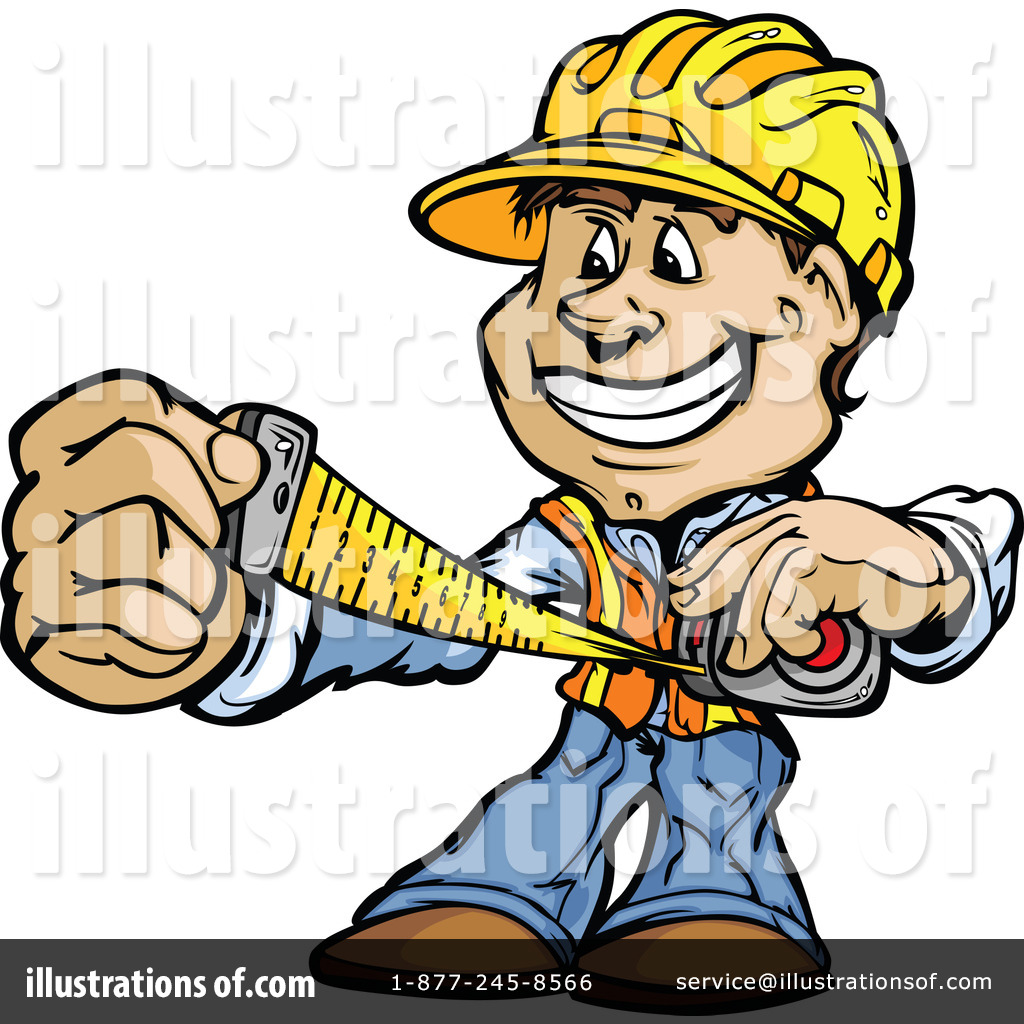 graphic free library Contractor clipart. Illustration by chromaco