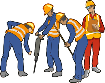 jpg transparent stock contractor clipart construction team #30825639